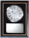 Wall/Desk Plaque Clock Award Employee Awards