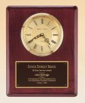 Piano Finish Vertical Wall Clock Employee Awards