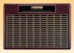 Rosewood Perpetual Plaque Employee Awards