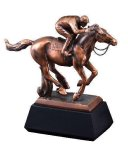 Horse With Jockey Equestrian Trophy Awards