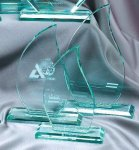 Premium Glass Flame Fire and Safety Awards