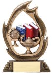 Flame Series Knowledge Flame Resin Trophy Awards