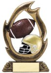 Flame Series Football Flame Resin Trophy Awards