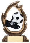 Flame Series Soccer Flame Resin Trophy Awards