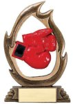 Flame Series Boxing Flame Resin Trophy Awards