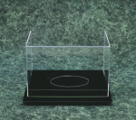 Football Acrylic Case with Base Football Display Case