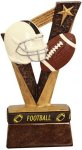 Football Trohy Band Resin Football Trophy Awards
