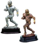 Football Runner Resin Figure Football Trophy Awards