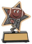 Football Little Pals Resin Trophy Football Trophy Awards