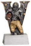 Football V Series Resin Football Trophy Awards
