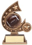 Resin Comet Series Football Football Trophy Awards