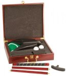 Rosewood Finish Executive Golf Set Game Gifts