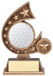 Resin Comet Series Golf Golf Awards