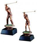 Golfer Drive Golf Trophy Awards