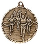 High Relief Cross Country Medal High Relief Medallion Awards
