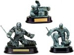 Hockey Goalie Resin Figure Hockey Trophy Awards