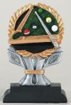 Billiard Impact Series Impact Series Resin Trophy Awards