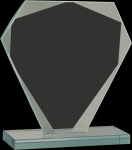 Cut Diamond Jade Glass Award Jade Glass Awards