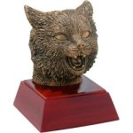 Wildcat Resin Mascot Resin Trophy Awards