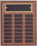 Perpetual Plaque Assembled with Black Plates Medium Perpetual Plaques