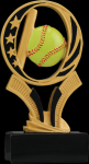 Softball Midnight Star Resin MidNight Star Resin Trophy Awards