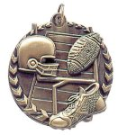 Millennium Football Medal Millennium Medallion Awards