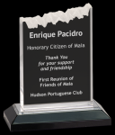 Frosted Impress Acrylic Mirrored Acryic Awards
