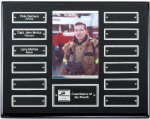 Ebony Perpetual Plaque Monthly Perpetual Plaques
