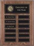 Walnut Perpetual Plaques Monthly Perpetual Plaques
