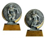 Motion X Basketball 3-D Motion X Action 3D Resin Trophy Awards
