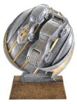 Motion X Pinewood Derby 3-D Motion X Action 3D Resin Trophy Awards