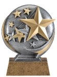 Motion X Stars 3-D Motion X Action 3D Resin Trophy Awards