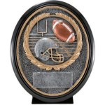 Football Resin Oval Oval Resin Trophy Awards