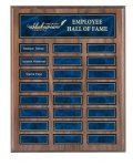 Recognition Pocket Perpetual Plaque with Blue Plates Perpetual Plaques