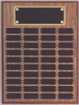 Perpetual Plaque Assembled with Black Plates Perpetual Plaques