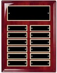 Rosewood Piano Finish Corporate Plaque Perpetual Plaques
