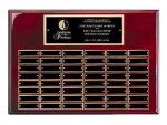 Rosewood Piano Finish Perpetual Plaque Perpetual Plaques