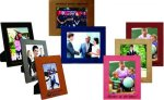 Leatherette Picture Frame (leather tones) Photo Gift Items
