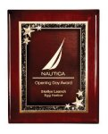 Rosewood Piano Finish Plaque Award Piano Finish Plaques