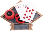 Poker Diamond Plate Resin  Poker Trophy Awards