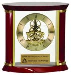 Exectutive Rosewood Piano Finish Clock Sales Awards