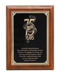 Walnut Piano Finish Corporate Plaque Sales Awards