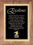 Assembled Plaque with Black Plate Sales Awards