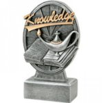 Pinwheel Script Lamp Of Knowledge Resin Scholastic Awards