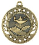 Lamp of Knowledge Galaxy Medal Scholastic Trophy Awards