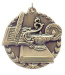 Millennium Lamp of Knowledge Medal Scholastic Trophy Awards