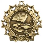 Lamp Ten Star Medal Scholastic Trophy Awards