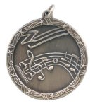 Shooting Star Music Medal Scholastic Trophy Awards