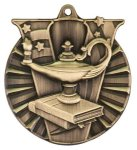 Lamp of Knowledge Victory Medal Scholastic Trophy Awards
