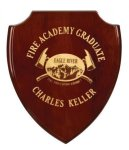 Rosewood Piano Finish Shield Plaque Award Shield Plaques